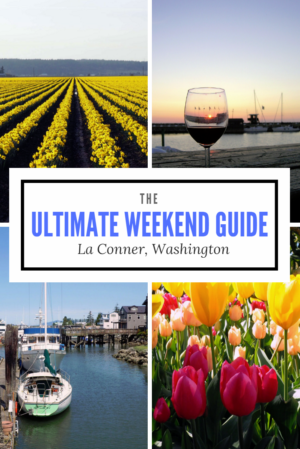 Want to visit one of Washington State's best tiny towns? Here's the ultimate weekend guide to La Conner. This small town in Skagit Valley offers big time charm in spring with the Daffodil Festival and Tulip Festival. Plus it's a hub of fine food, great art, and blissful waterside views. Read more at www.liverecklessly.com Washington | USA | La Conner | Weekend getaway