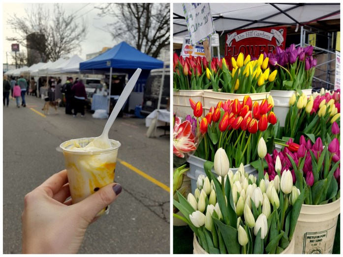 University District farmers market - Expat Escapades march 2017