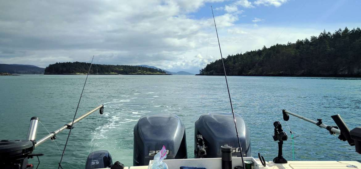 Salmon fishing in the San Juan Islands Washington State - Live Recklessly travel blog