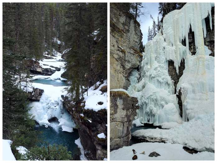 Expat Escapades April - Johnston Canyon Banff
