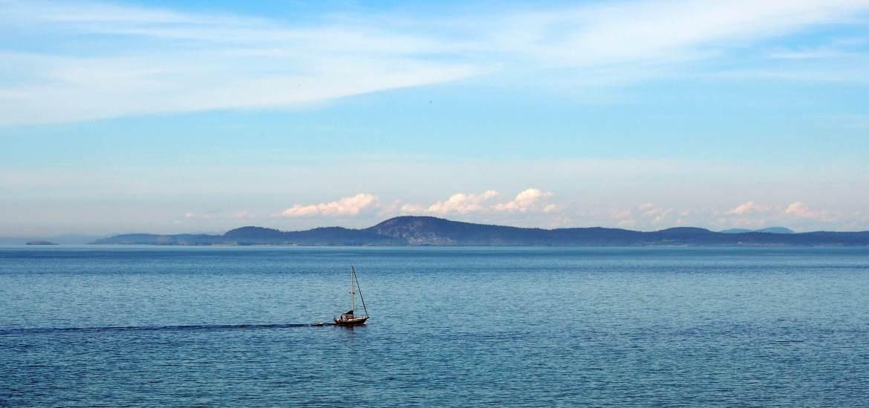 Views across the Strait Fidalgo Island