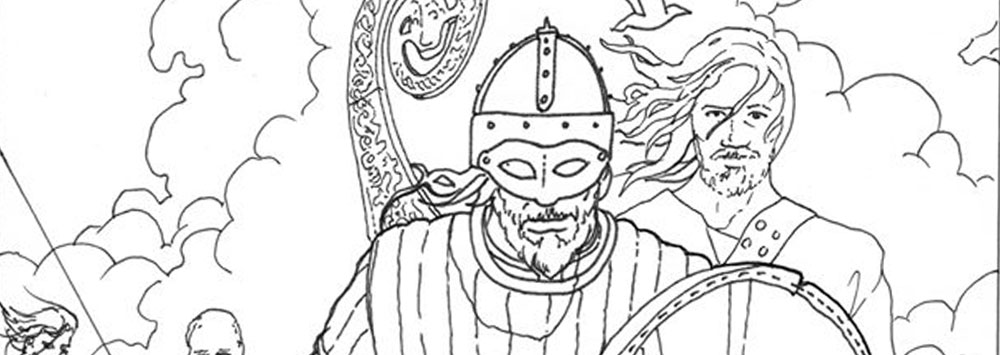 Viking Colouring Sheets Viking Colouring Sheets- Faculty