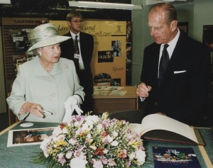 ROYAL VISIT Central Library 1999