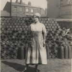 Liverpool Central Library - Munitions girl 22 June 1918 CE 3338 - Liverpool Records Office (2)