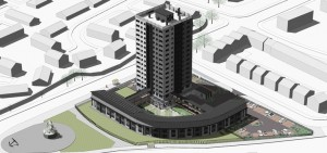 The Marwood Tower scheme in Everton which is one of the Liverpool Housing Partnership schemes