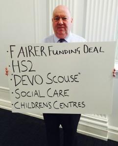 Mayor's five priorities