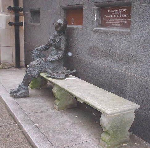 The Eleanor Rigby statue