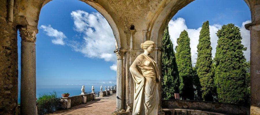 Villa Cimbrone Gardens in Ravello