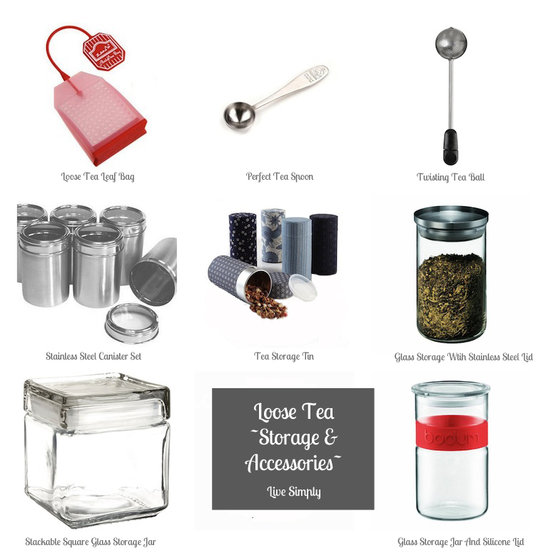 Loose Tea Leaf Storage  sc 1 st  Live Simply by Annie & Loose Tea Leaf Storage | Live Simply by Annie
