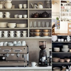 Open Metal Shelving Kitchen Custom Islands In The Live Simply By Annie