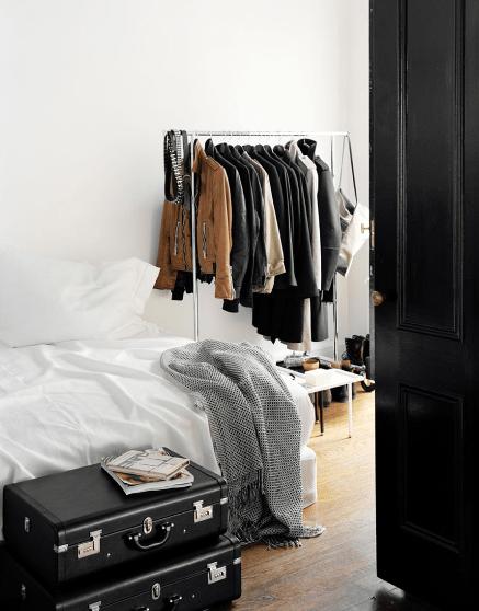 The No Closet Garment Rack Closet (19 Winning Examples + Where To ...
