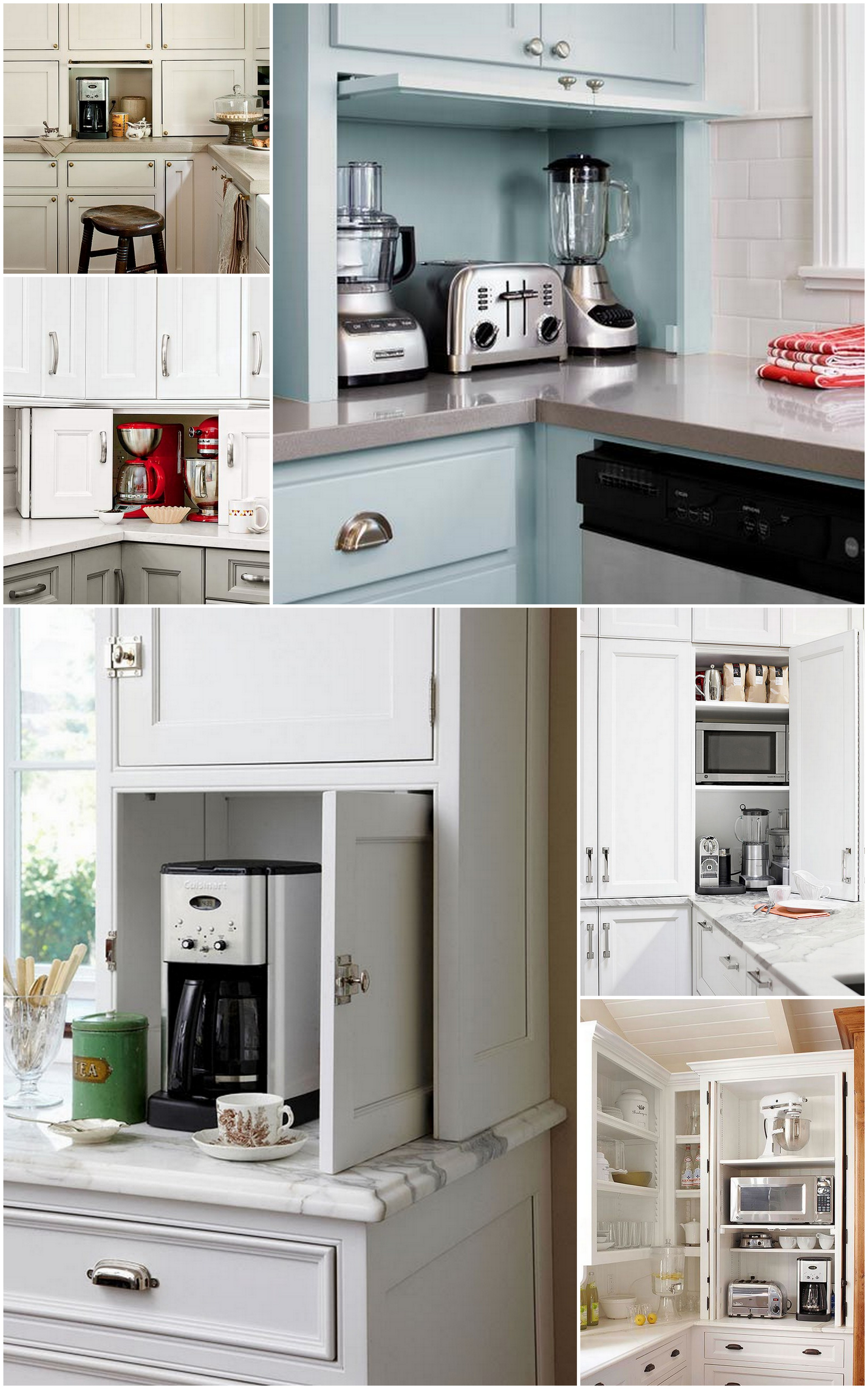 kitchen appliance shelf counter table the ideal storage live simply by annie