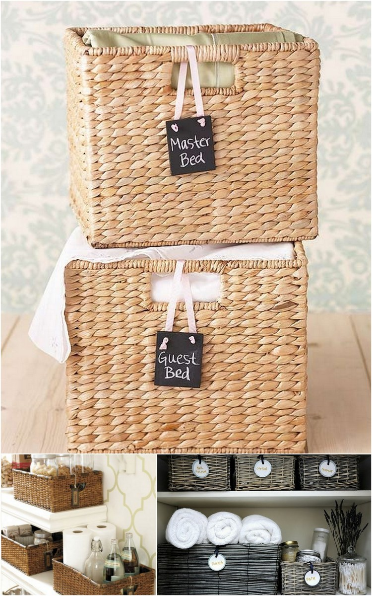 How To Label Baskets Live Simply By Annie