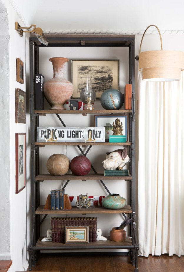 Perfectly styled shelves by Ryan White Designs
