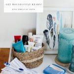 Weekend Assignment: Get Houseguest Ready!