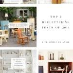 Top 5 Decluttering Posts of 2014