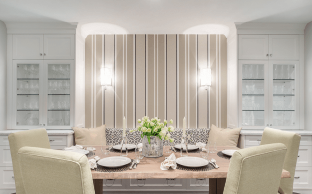 The perfect dinner party spot. By Meghan Carter Design Inc.