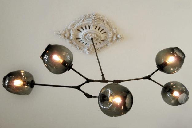 Interior designer Tanya Capaldo's gorgeously chic renovated 19th-century brownstone.