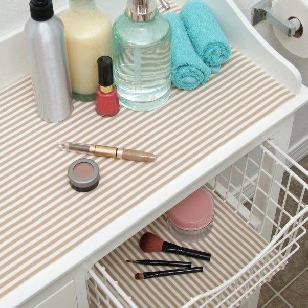 Ask Annie: What Are The Best Shelf Liners?   Live Simply by Annie on design office, bathroom vanity drawers, bathroom storage drawers,