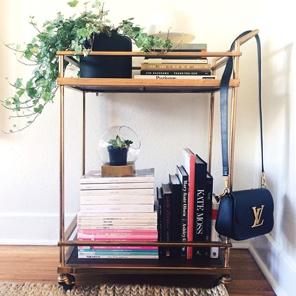 6 Ways To Reimagine The Role Of A Bar Cart