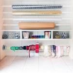 A Super Simple Gift Wrap Organizer