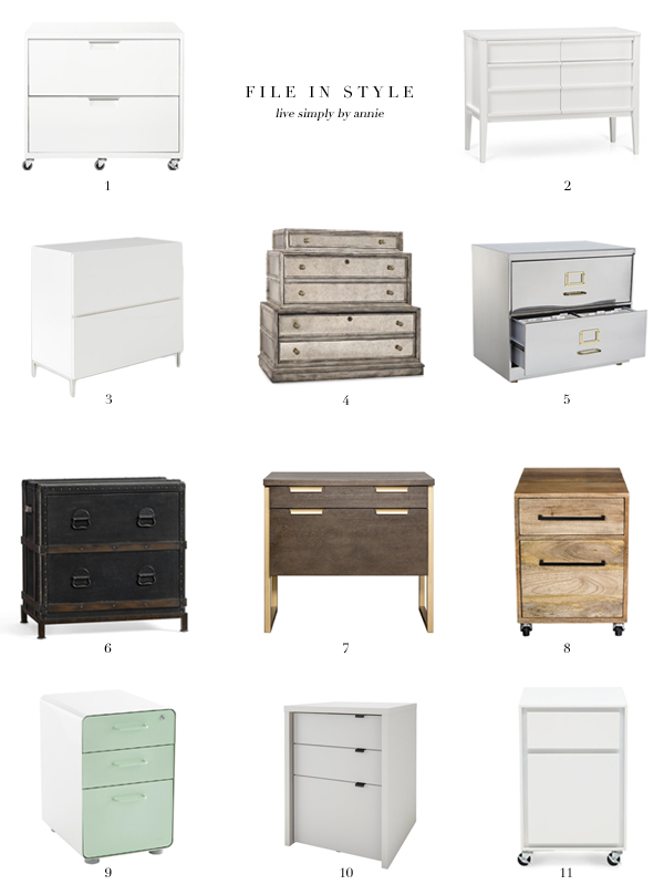 11 Stylish Filing Cabinets