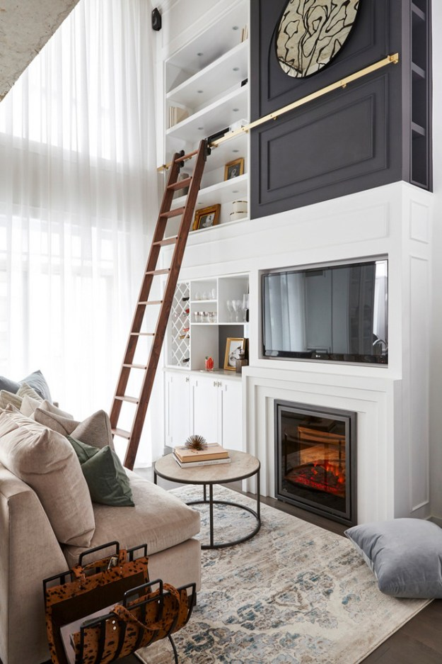 Small Space Solutions Living Room: Spotlight On A Tiny Place Packed With Ingenious, Small