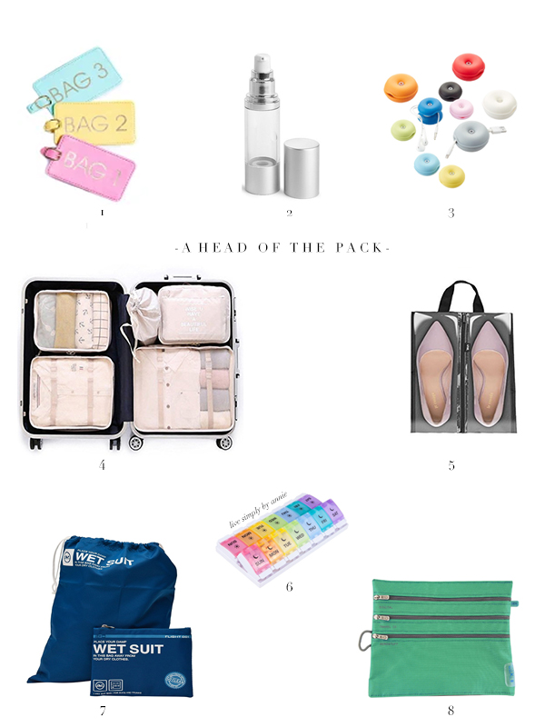 operation organized summer travel coming true with these packing essentials.