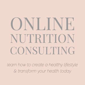 online nutrition consulting