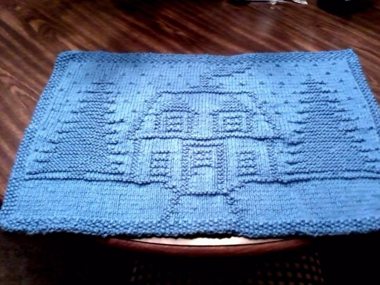 Placemat in cotton yarn