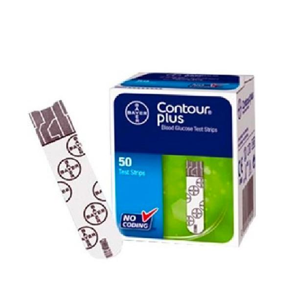 拜耳(拜安進) Contour Plus 血糖試紙 50片 (近期特價: 試紙2021.3月到期) - 營康薈