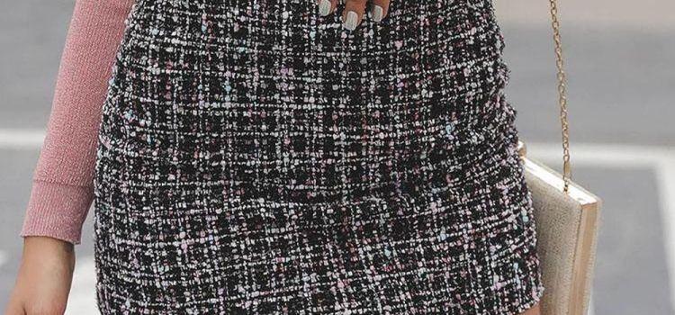 Tweed φούστα: Η πιο φρέσκια τάση της σεζόν