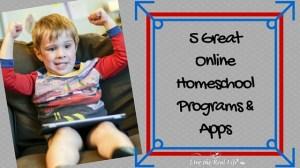 5 Great Online Homeschool Programs and Apps