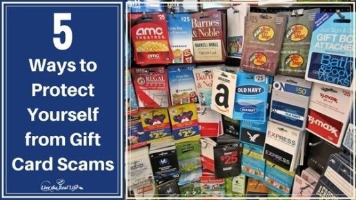 5 Ways to Protect Yourself from Gift Card Scams