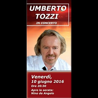 Biglietti Umberto Tozzi
