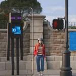 Bannière de l'épisode 153 montrant une photo de rue avec un personnage de Minecraft pour figurer le futur jeu Minecraft earth
