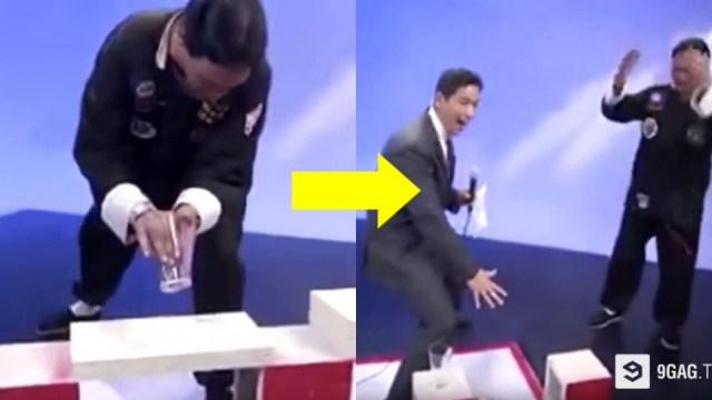 Η πιο άβολη στιγμή στην Ιστορία της Τηλεόρασης: Παρουσιαστής αποκαλύπτει κατά λάθος Απατεώνα Δάσκαλο Καράτε!