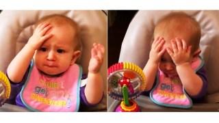 Η ανεκτίμητη αντίδραση μικρούλη όταν δοκιμάζει μπρόκολο για πρώτη φορά στη ζωή του.
