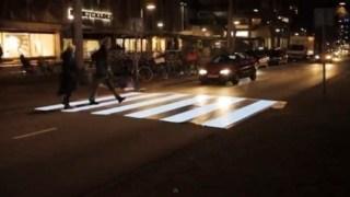 Η πρώτη φωτιζόμενη διάβαση πεζών στον κόσμο βρίσκεται στην Ολλανδία