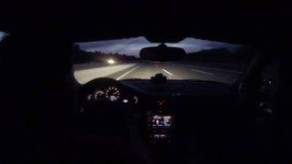 Πως είναι να κινείσαι με 332 χιλιόμετρα την ώρα σε μία Πόρσε και να «σκάει» το ελαστικό