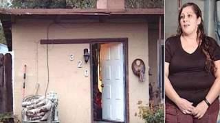 Για 3 χρόνια ζούσε με τα παιδιά της σε ένα γκαράζ χωρίς ρεύμα.
