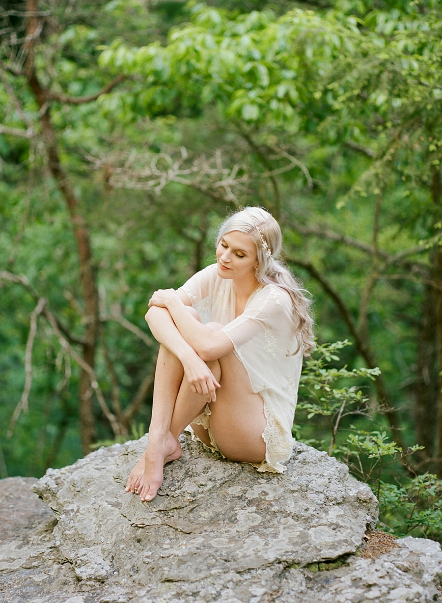 Nature Inspired Outdoor Boudoir  Live View Studios