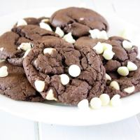 Chocolate Cake Mix Cookies