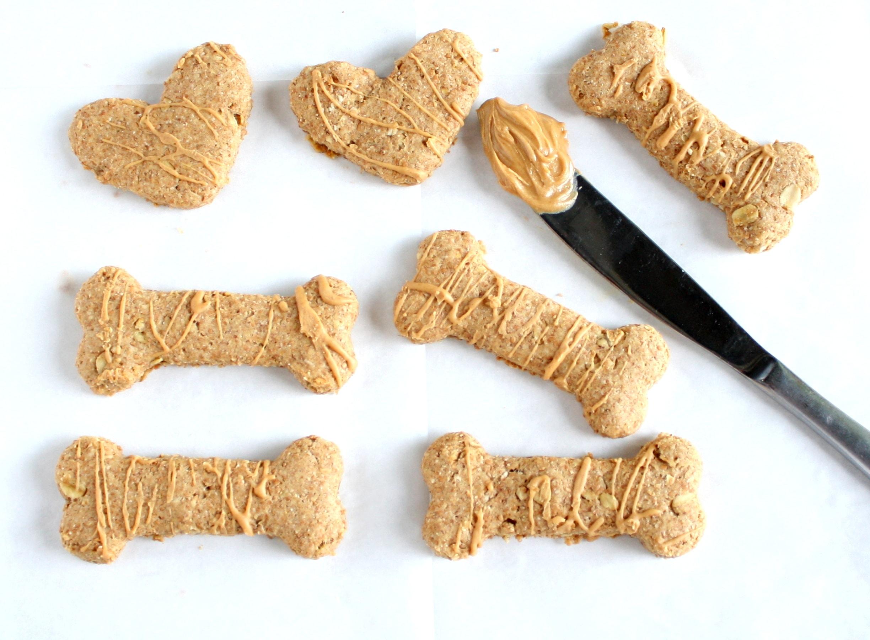 Homemade Peanut Butter Dog Treats Live Well Bake Often