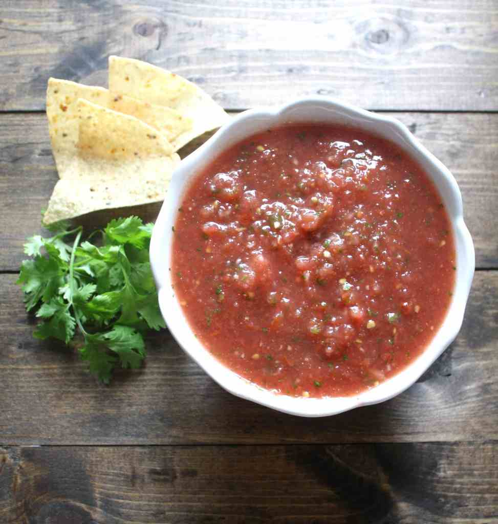 Restaurant Style Salsa | Live Well Bake Often