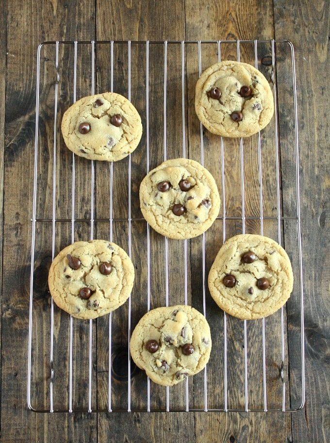 Small Batch Chocolate Chip Cookies