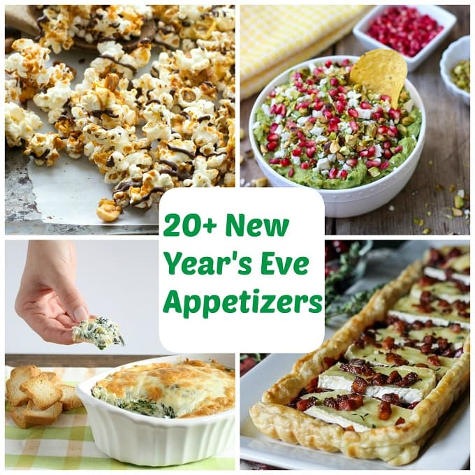 20 new year 39 s eve appetizers for Appetizer ideas for new years eve party