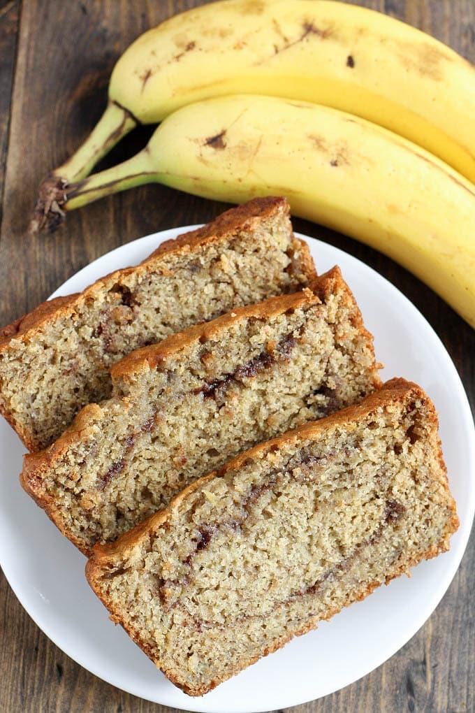 Cinnamon Swirl Banana Bread