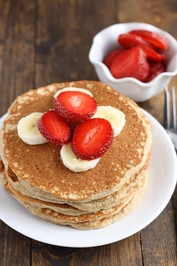 Whole Wheat Pancakes Live Well Bake Often