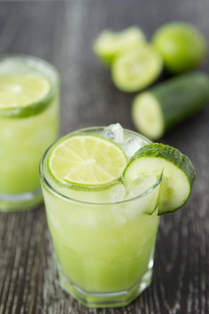 Cucumber Lime Margaritas